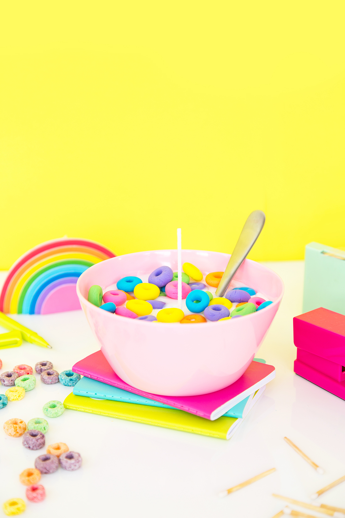 » DIY Cereal Bowl Candle