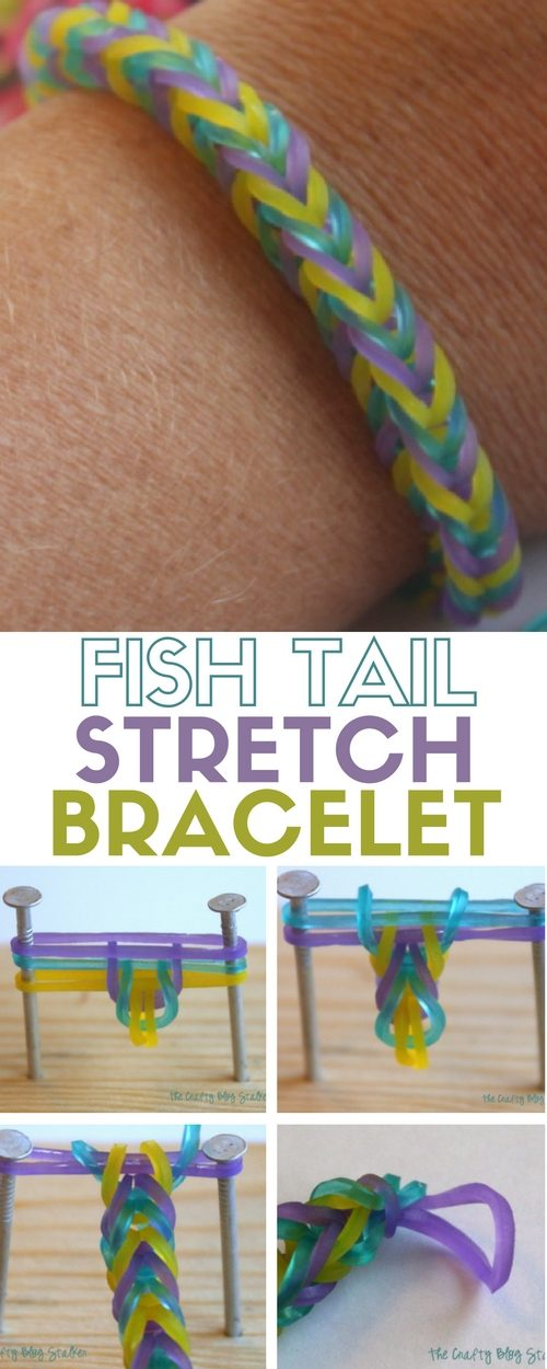 How to Make a Fish Tail Stretch Bracelet – The Crafty Blog Stalker