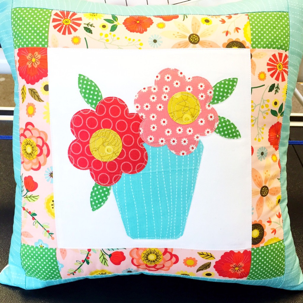 Stuart Hillard Project: Garden Pillow – Create & Craft Blog