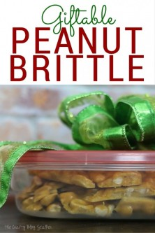 How to Make Giftable Peanut Brittle – The Crafty Blog Stalker