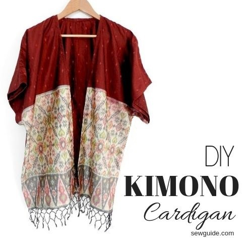 1 Hour Kimono Cardigan – A simple pattern & quick tutorial – Sew Guide