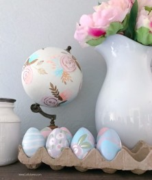 DIY Painted Faux Easter Eggs – All Materials At Your Local Walmart