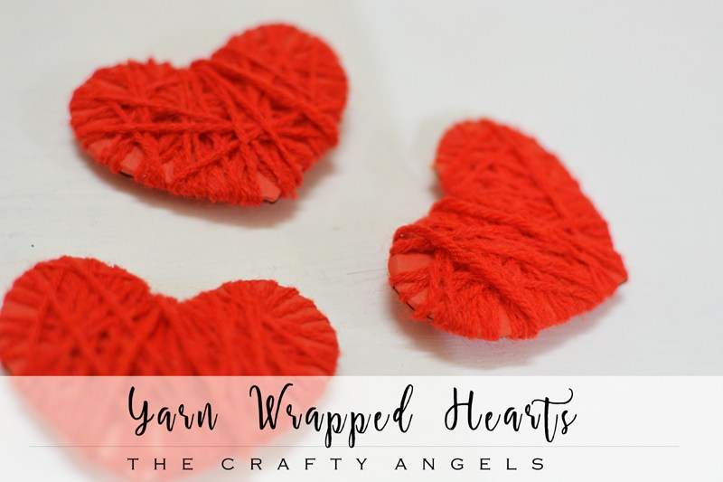 Yarn-wrapped-hearts-valentine-craft-8