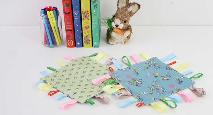 How to Sew a Crinkle Tag Toy – Hobbycraft Blog