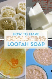 How to Make Exfoliating Loofah Soap – The Crafty Blog Stalker