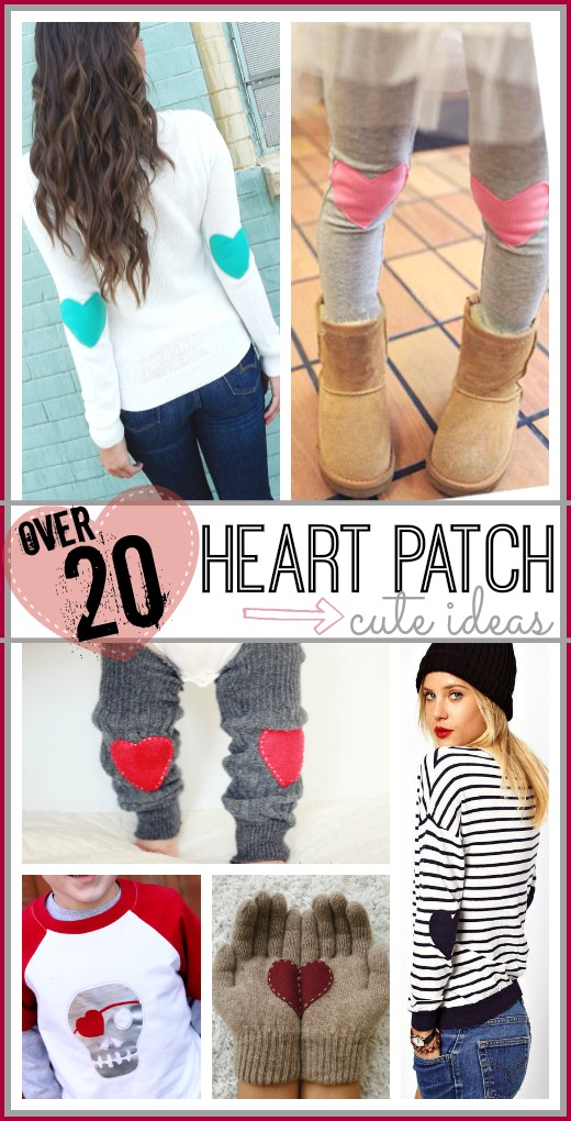 Heart Patches – Sugar Bee Crafts