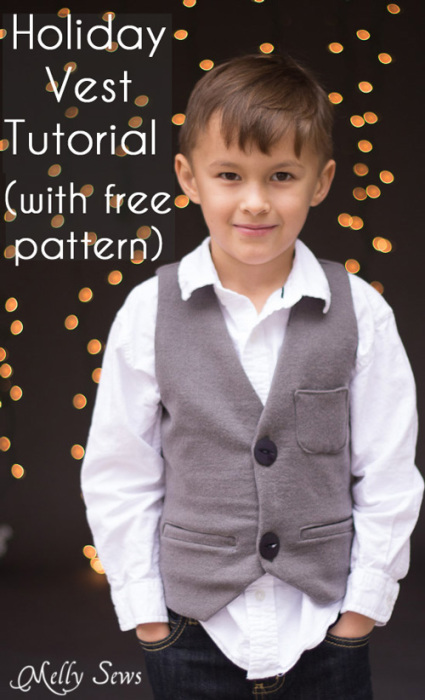 Sew a Vest – with a free pattern – Melly Sews