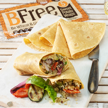 These BFree Sweet Potato Wraps Are Only 100 Calories