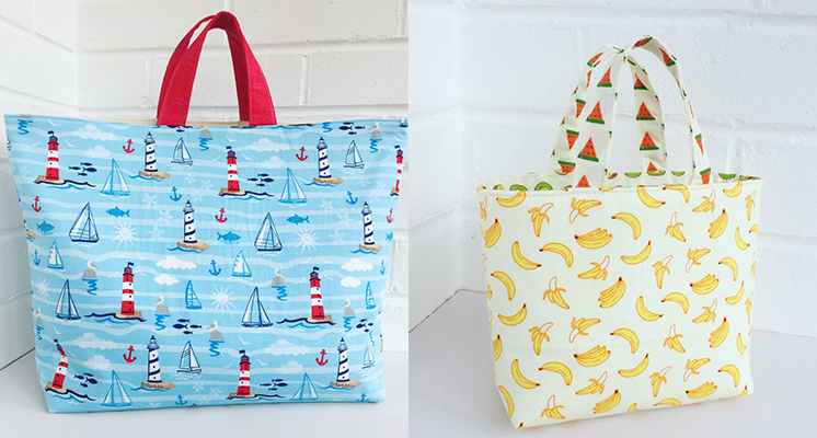How to Sew Fat Quarter Tote Bags – Hobbycraft Blog