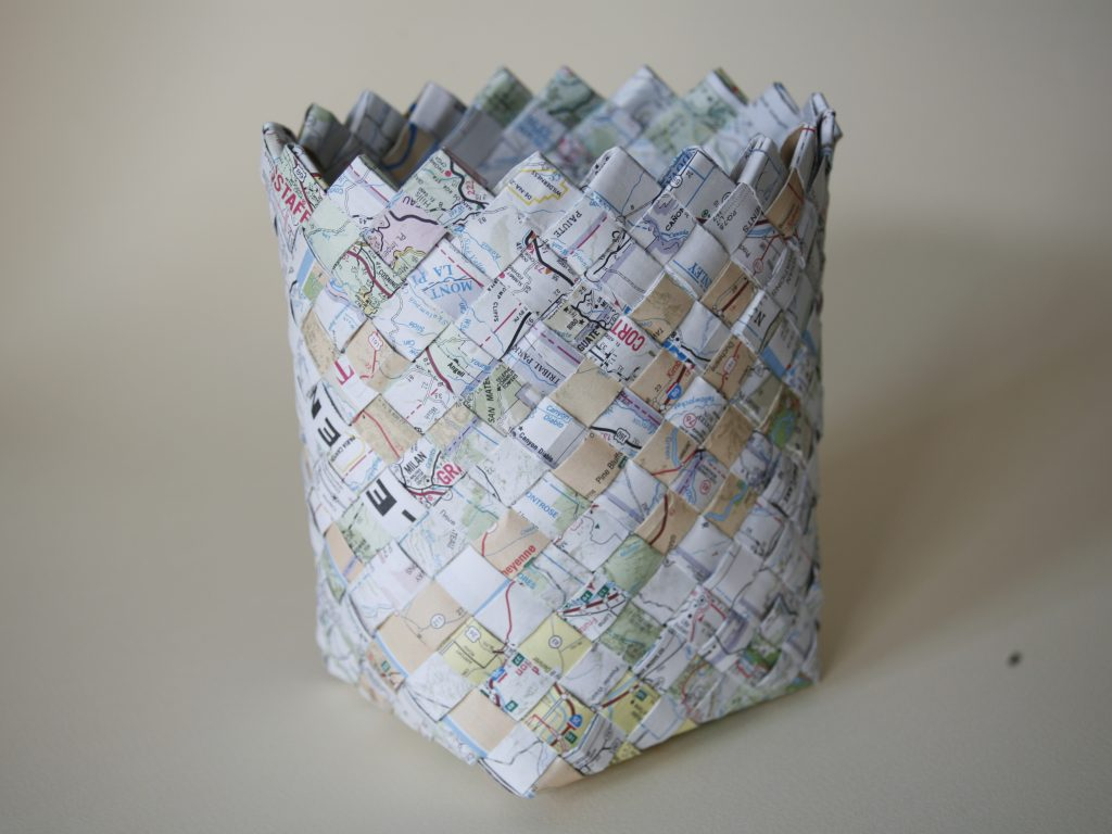 Woven Map Basket | Make:
