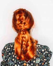 Top Braided Ponytail – A Beautiful Mess