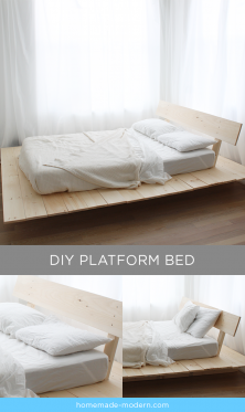 HomeMade Modern EP89 Platform Bed