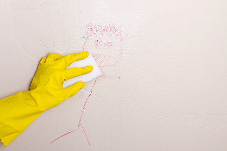 4 Steps for Cleaning Painted Walls | DIY: True Value Projects