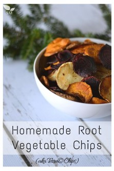 Homemade Root Vegetable Chips (aka Terra© chips) | Pronounce | Scratch Mommy